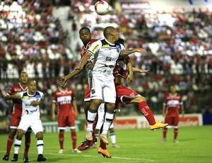 CRB x Ceará, no Rei Pelé (Foto: Ailton Cruz/Gazeta de Alagoas)