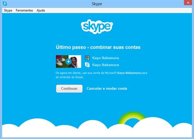 Skype agora permite login com conta de e-mail da Microsoft (Foto: Divulgação)