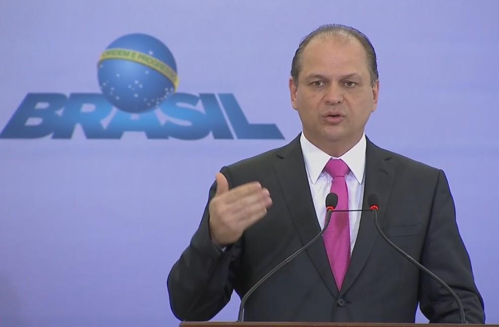 Ricardo Barros, ministro da Saúde (Foto: Reprodução/NBR)