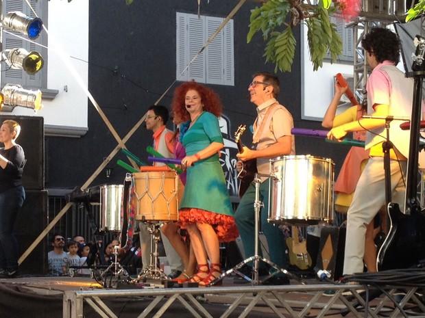 VIRADA CULTURAL - Domingo (13h): Palavra Cantada toca na Viradinha Cultural (Foto: Ana Leonardi/G1)
