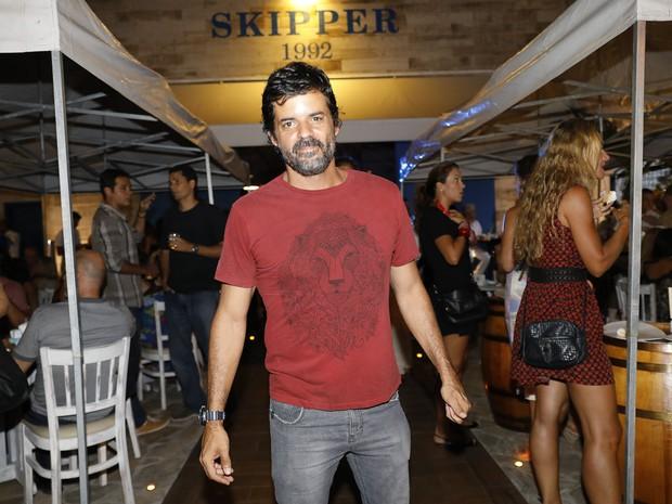 Jorge Pontual em evento na Barra da Tijuca, Zona Oeste do Rio (Foto: Felipe Panfili/ Divulgação)