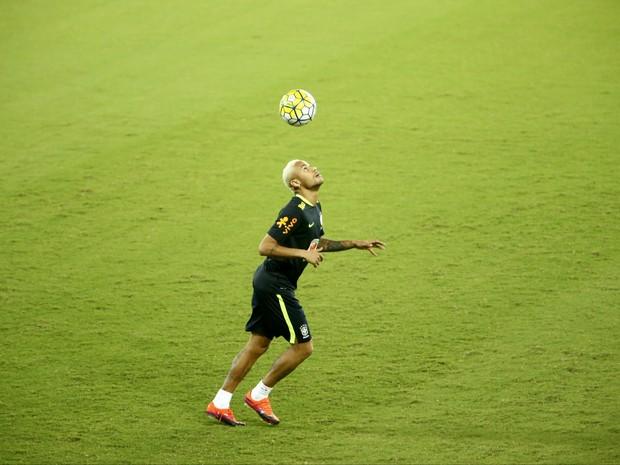 Neymar Jr. - Natal - Seleção Brasileira - Arena das Dunas (Foto: Alexandre Lago/GloboEsporte.com)