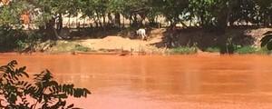 No 6º dia de viagem pelo Rio Doce, G1 encontrou água mais densa (Flávia Mantovani/G1)