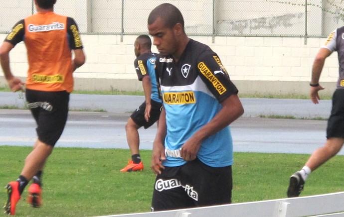 Regis treino Botafogo (Foto: Gustavo Rotstein)