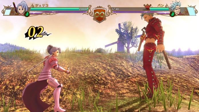 The Seven Deadly Sins: Knights of Britannia (Foto: Divulgação/Bandai Namco)