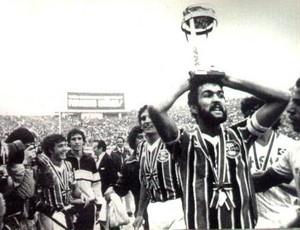 hugo de león grêmio adeus, olímpico (Foto: Site oficial do Grêmio)