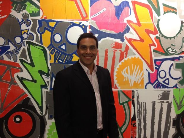 Leonardo Tristão, diretor geral do Facebook no Brasil, na sede da empresa em São Paulo (Foto: Helton Simões Gomes/G1)