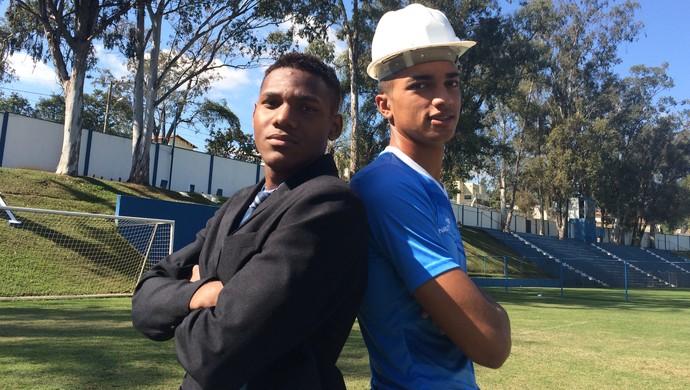 Gabriel e Dalberson fazem os cursos de administração e engenharia de produção, respectivamente (Foto: Maurício Paulucci)