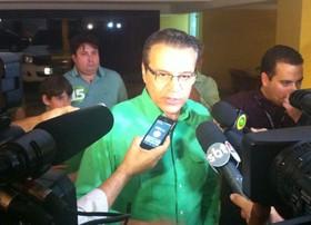 'Faremos uma oposição vigilante', diz Henrique Alves após derrota (Felipe Gibson/G1)