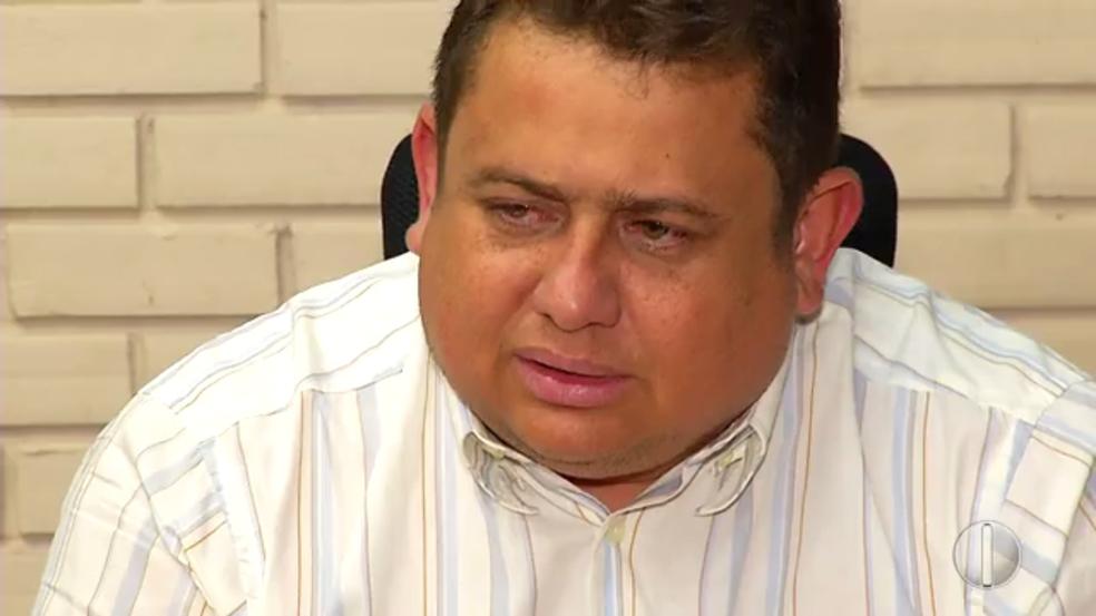 Wallber Virgolino é secretário de Justiça e Cidadania do RN e ex-delegado da Polícia Civil na Paraíba (Foto: Ítalo Sales/Inter TV Cabugi/Arquivo)