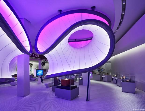 Conheça a Galeria da Matemática  projetada por Zaha Hadid Architects (Foto: Nick Guttridge)