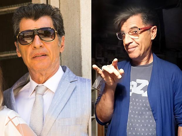 Paulo Betti ganhou ar moderno e divertido para o personagem Téo (Foto: Império / TV Globo)