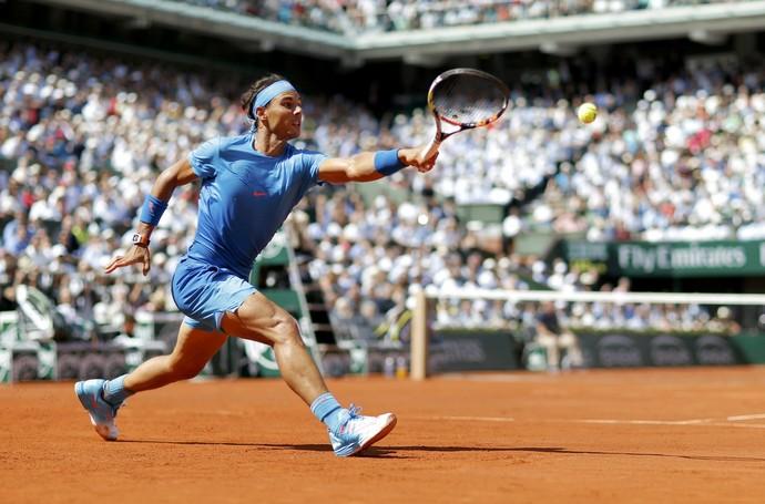Novak Djokovic x Rafael Nadal em Roland Garros 2015 (Foto: Reuters)