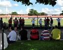 Antes de decisão, Atlético-GO recebe apoio da torcida e de Pituca em treino