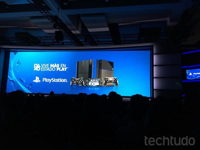 PlayStation 4 será fabricado no Brasil (Foto: Viviane Werneck / TechTudo)
