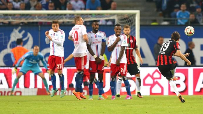 Lucas Piazon, Hamburger x Eintracht Frankfurt (Foto: Getty Images)