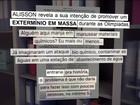 Presos pela Hashtag citam extermínio em massa na Olimpíada do Rio, diz PF