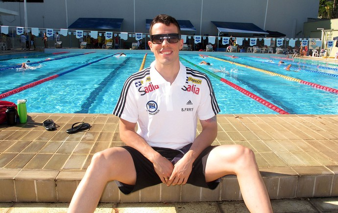 Bruno Fratus open natação (Foto: Danielle Rocha)