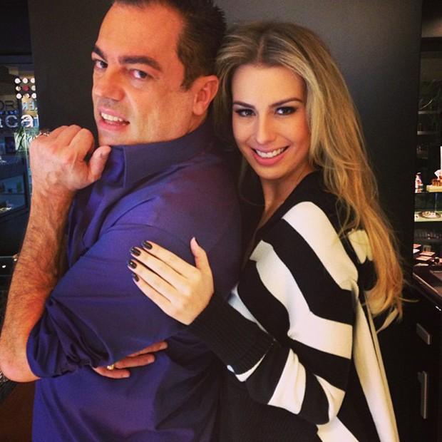 Marco Antônio de Biaggi e Fernanda Keulla (Foto: Instagram / Reprodução)