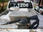 Polícia apreende 1 tonelada de maconha prensada no sul da Bahia