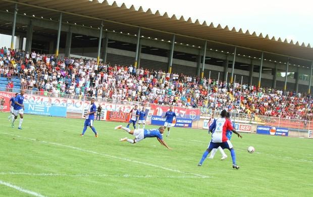 Nacional passa para final com vitória de 1 a 0 sobre o Fast Clube (Foto: Frank Cunha)