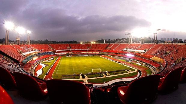 estádio Morumbi jogo São Paulo Libertadores (Foto: Ag. Estado)