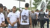 Treino do Atlético teve mistério e protesto para a final do Campeonato Mineiro