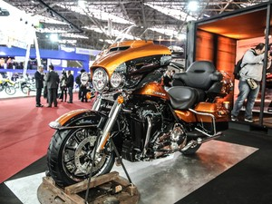 Harley-Davidson Ultra Limited (Foto: Raul Zito/G1)
