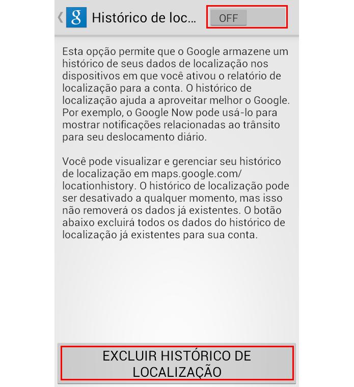 Desative o histórico na chave e exclua tudo em um botão (Foto: Reprodução/Paulo Alves) (Foto: Desative o histórico na chave e exclua tudo em um botão (Foto: Reprodução/Paulo Alves))