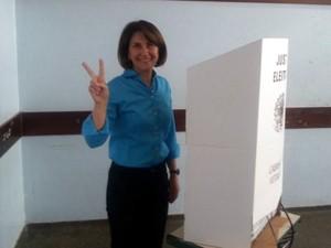 Cristina Carrara foi eleita com 54.543 votos (Foto: Diego Estevão / Divulgação)