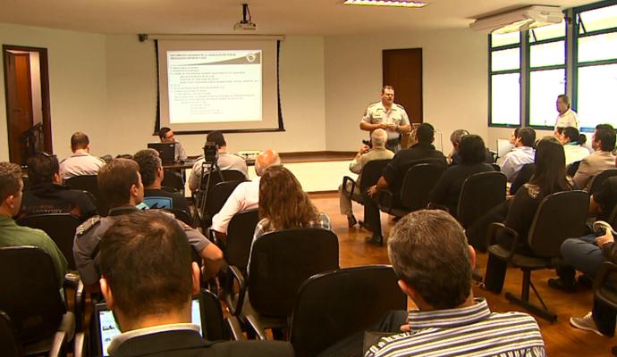 Segurança Polícia Militar França Ribeirão Preto (Foto: Reprodução EPTV)