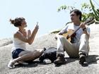 Nathalia Dill e Sergio Guizé mostram total sintonia em gravação; fotos!
