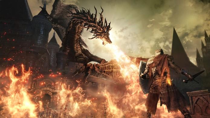 Dark Souls 3 vem com a mesma dificuldade elevada e desafiadora (Foto: Divulgação/Bandai Namco)