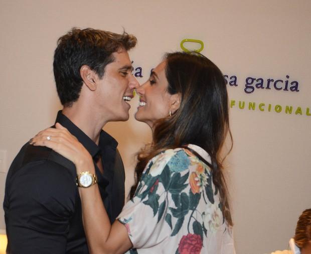 Marcio Garcia e Andrea Santa Rosa (Foto: Ari Kaye/Divulgação)