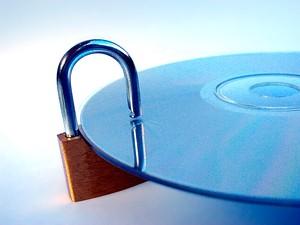 Proteção de Dados, CD com cadeado