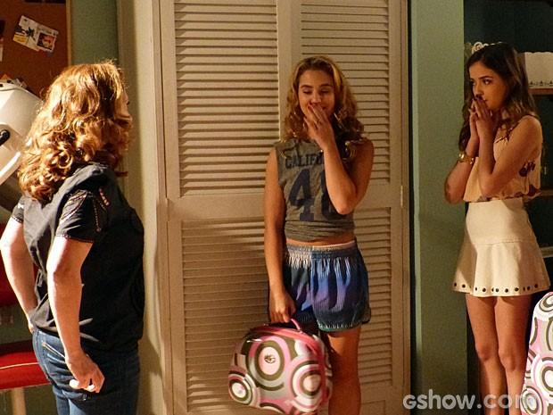 Meg ficou surpresa quando Vera a convidou para morar no casarão (Foto: Malhação/ TV Globo)