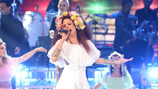 'Show dos Famosos': Emanuelle Araújo arrasa e sai na frente no segundo dia de apresentações