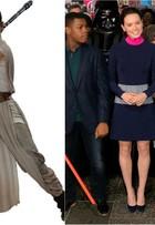 Os looks de Daisy Ridley, a Rey de 'Star Wars', durante estreias do longa