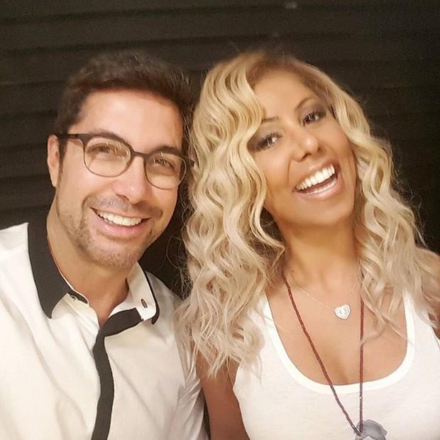 Fernando Torquatto e Valeria Valenssa (Foto: Reprodução/Instagram)
