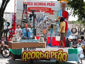 Bloco 'Acorda Peão' é um dos mais tradicionais em São José (Foto: Divulgação/Sindicato dos Metalúrgicos)