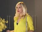 Bata ressalta barriguinha de grávida de Gwen Stefani