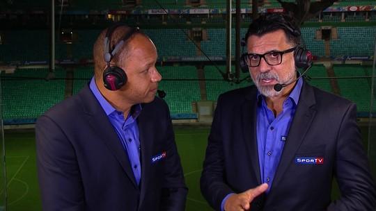 Diego e Éverton Ribeiro ficaram abaixo do esperado, afirma Ricardo Rocha