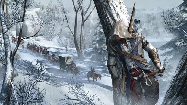 Connor, personagem principal de Assassin's Creed III (Foto: Divulgação)
