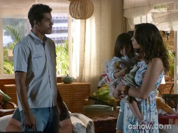 O ator em cena como Jairo (Foto: Em Família/TV Globo)