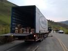 Assalto a caminhão de cigarros na BR-040 será investigado em MG