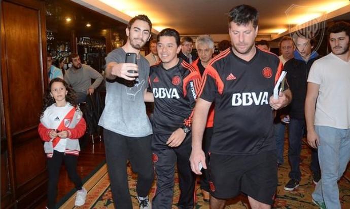 Marcelo Gallardo técnico River Plate (Foto: Reprodução / Twitter)