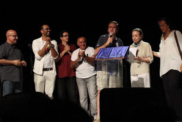 Fernanda Montenegro na cerimônia de abertura da Arena Cultural (Foto: Rafael Moraes)