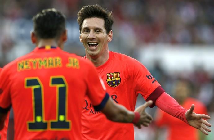 Lionel Messi Neymar Barcelona (Foto: Reuters)