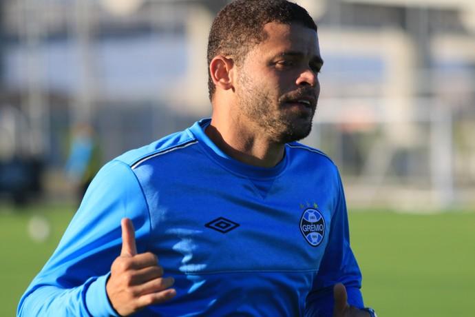 Edinho Grêmio (Foto: Eduardo Deconto/Globoesporte.com)
