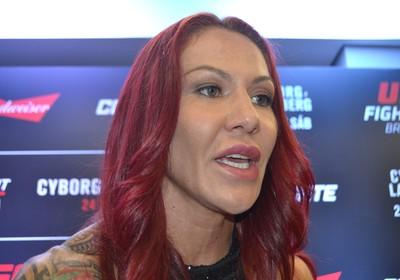Cris Cyborg UFC Brasília (Foto: Raphael Marinho)